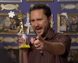 "Wil Wheaton says, ""Play more games!"""